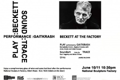 BECKETT AT THE FACTORY